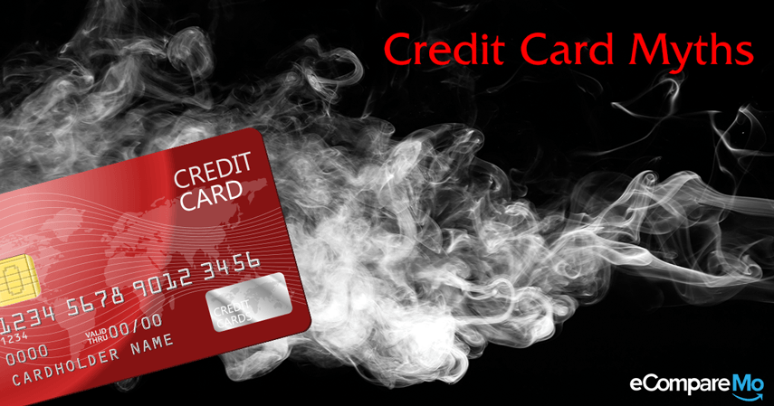 Never Fall For The Following Credit Card Myths