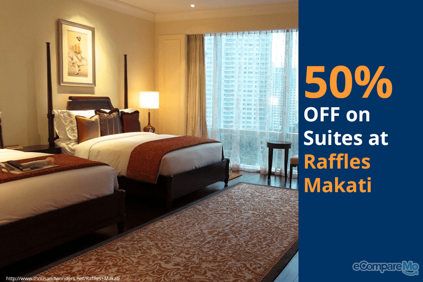 Raffles Makati 50% OFF on Suites