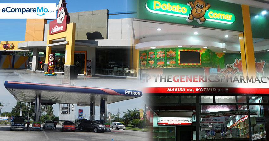 top 5 franchises in the philippines