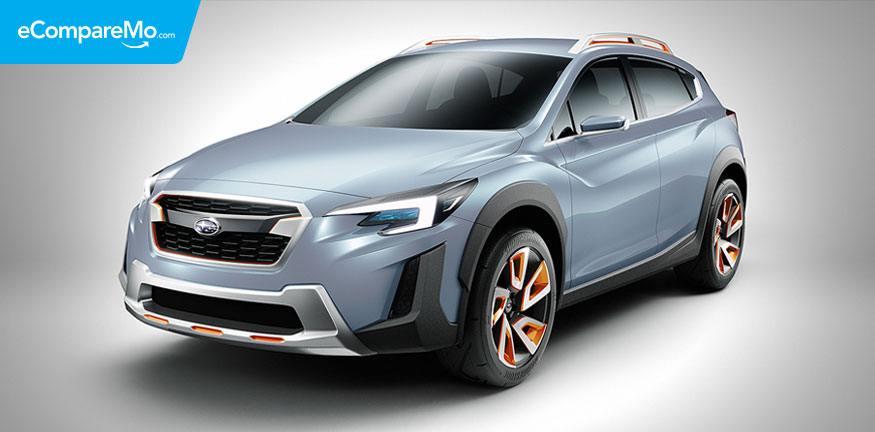 (Subaru XV 2018 Concept Car) subaru.com